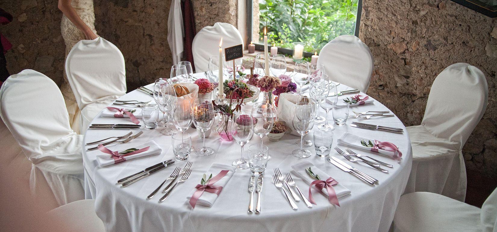 Hochzeiten im Kirchsteiger in Völlan bei Lana feiern, Südtirol